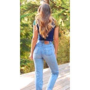Levi's 501 Vintage High rise Moms Jeans